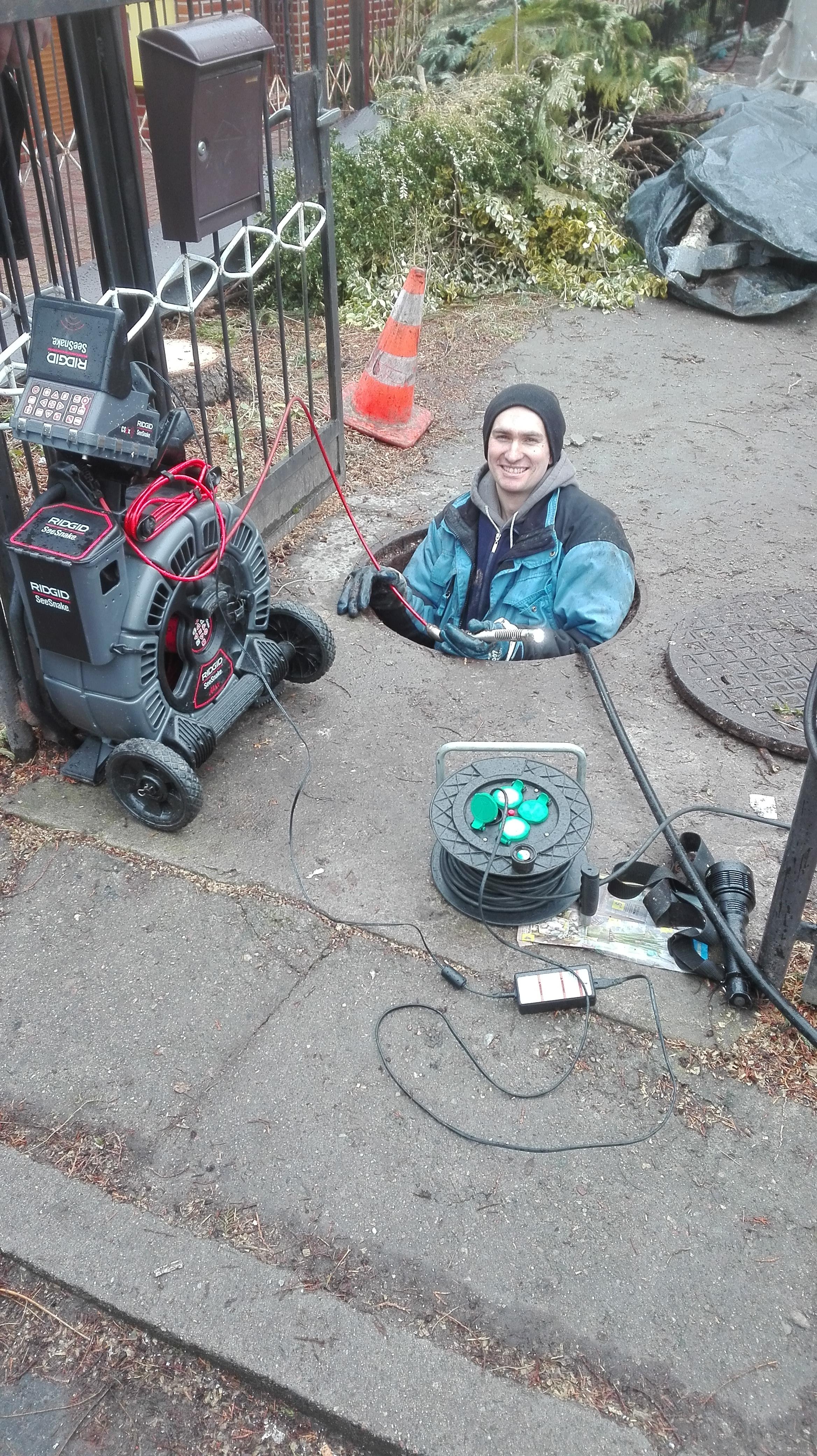 Video inspekcja kanalizacji kamerą ridgid szczecin i okolice